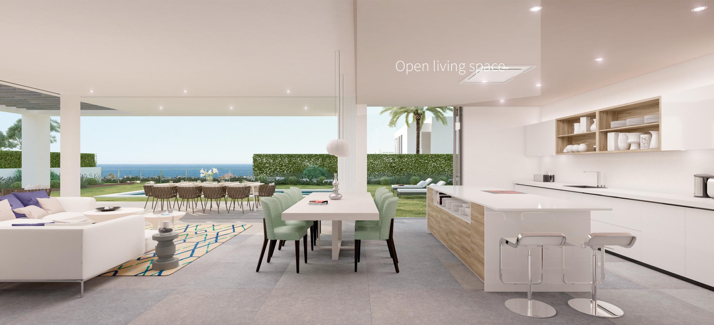 Open living space